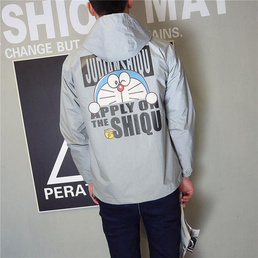 Japanese trendy reflective jacket
