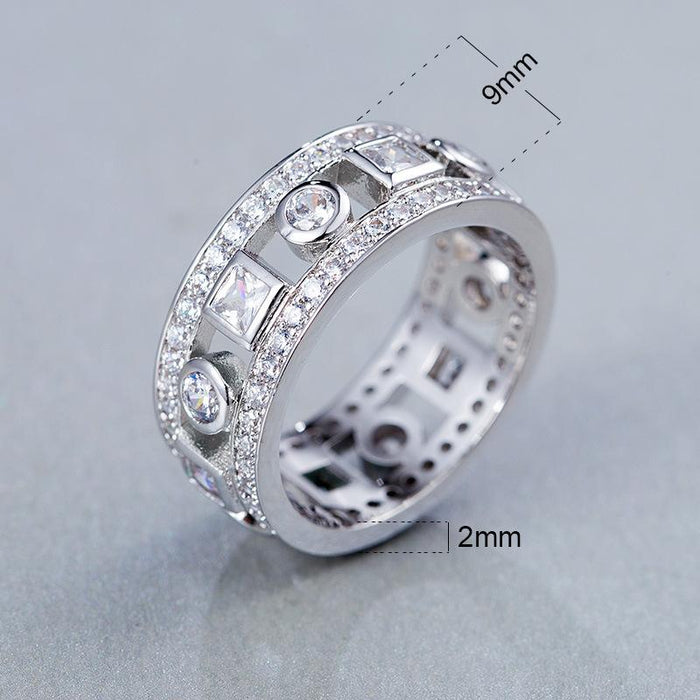 Diamond ring for lovers
