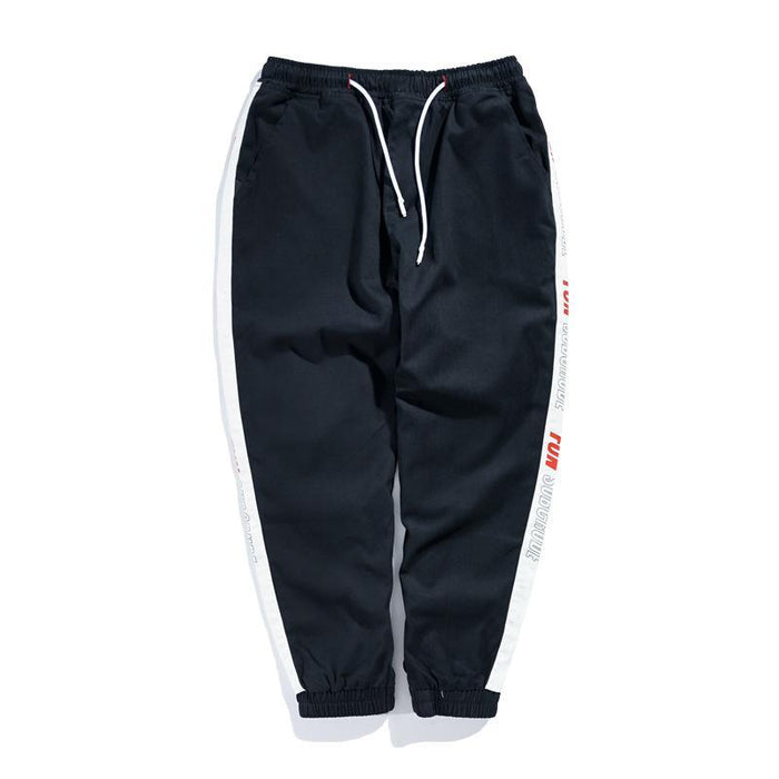 Japanese Port Wind Youth Retro Nine Pants Trousers
