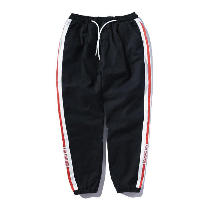 Japanese Hip Hop Cotton Beam Harem Sports Pants