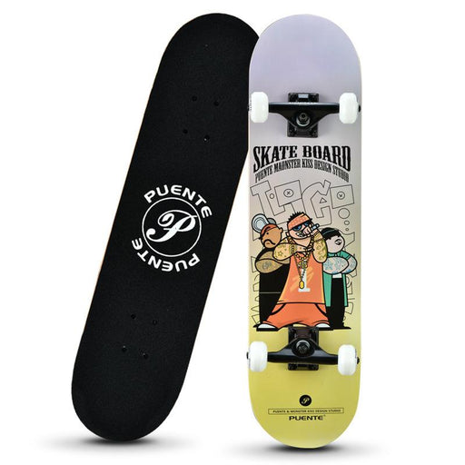 Japanese Four wheel Double Warped Dance Board Long Board Skateboard
