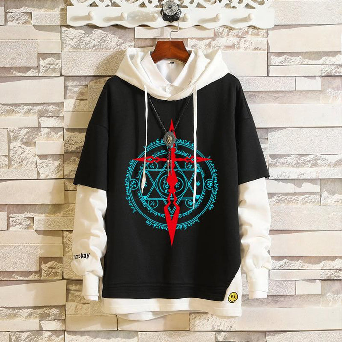 Japanese Anime -Fate/Grand Order Black Saber My King Anime FGO Jeanne of Arc Sweater