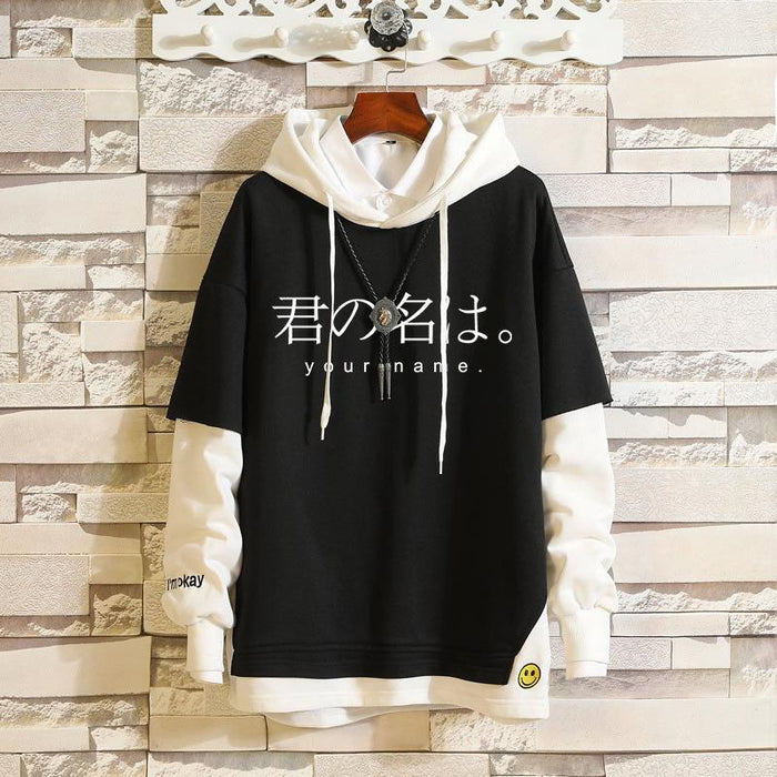 Japanese  Anime Unheard of Flower Name/ My Neighbor Totoro/ Dry Woman/ Your Name/ Faceless Man/ Natsume Cat Sweater