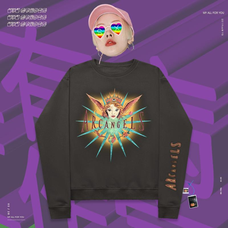 Retro High street  archangel hands sweatshirt