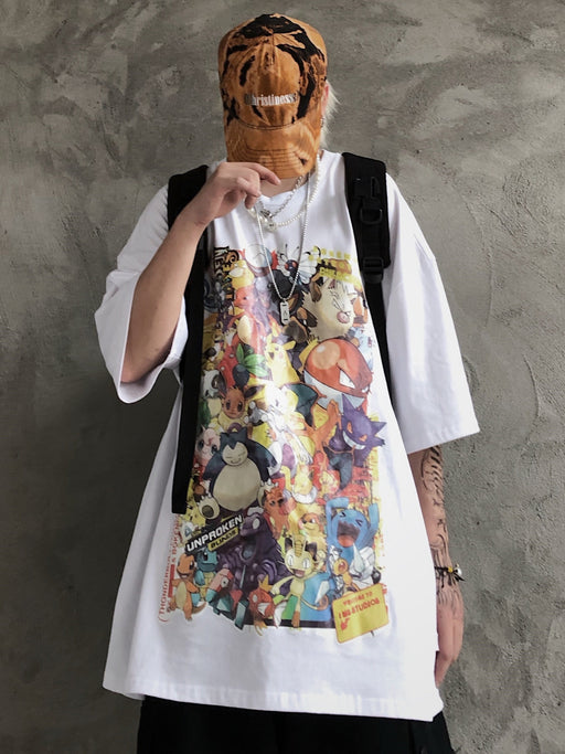 Japanese  Anime Retro anime cartoon T-shirt