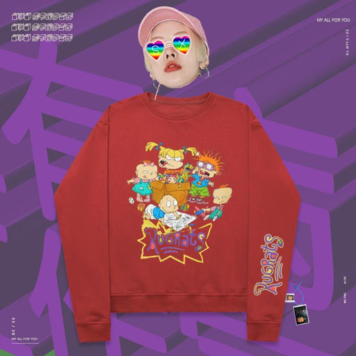 Retro Popular cartoon characters on instagram sweatshirt