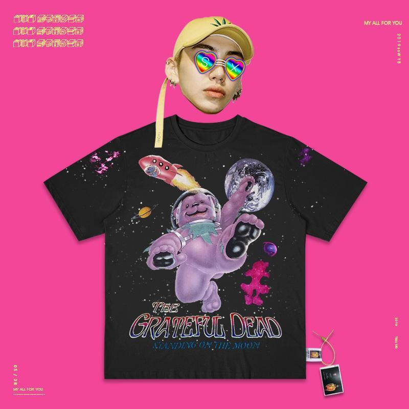 Retro T-shirt Synthwave 90s I'm busy being cute