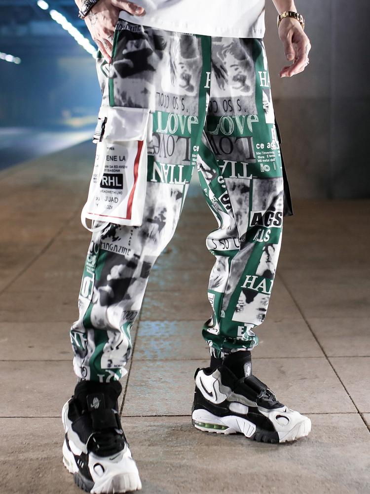 Japanese camouflage casual pants