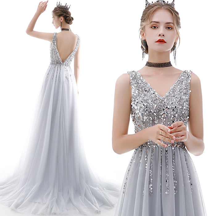 Party Sexy Temperament Fantasy Birthday Sequin Dress