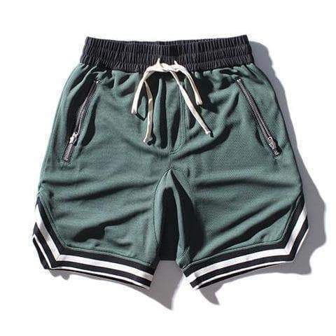 Green Signature Shorts
