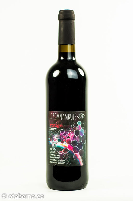 Cidrerie Le Somnambule - Rouge 2017 - Achat Local