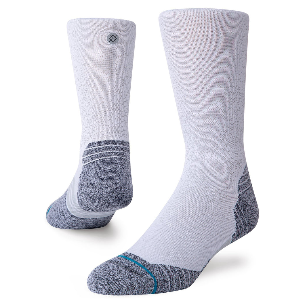 Stance Run Crew White INFIKNIT
