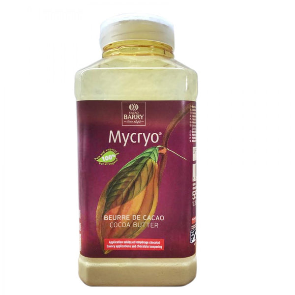 MYCRYO 100% PUR BEURRE CACAO 550GR - CACAO BARRY
