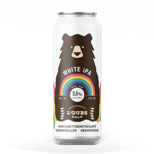 IPA BLANCHE - MICROBRASSERIE L'OURS BRUN
