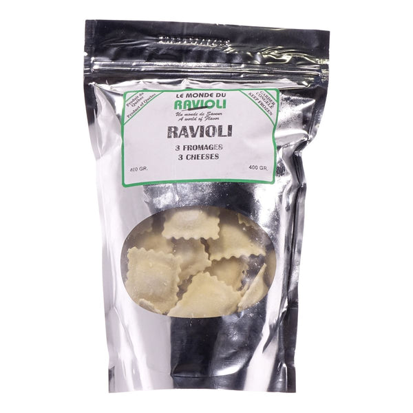 RAVIOLI - 3 Fromages 800g