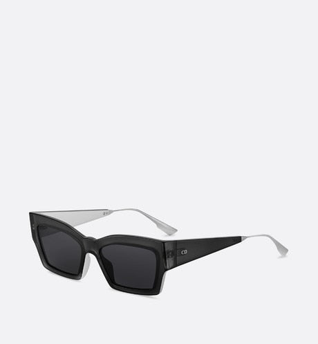 CATSTYLEDIOR2 GRAY RECTANGULAR SUNGLASSES