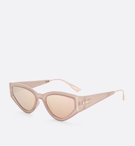 CATSTYLEDIOR1 ROSE GOLD BUTTERFLY SUNGLASSES
