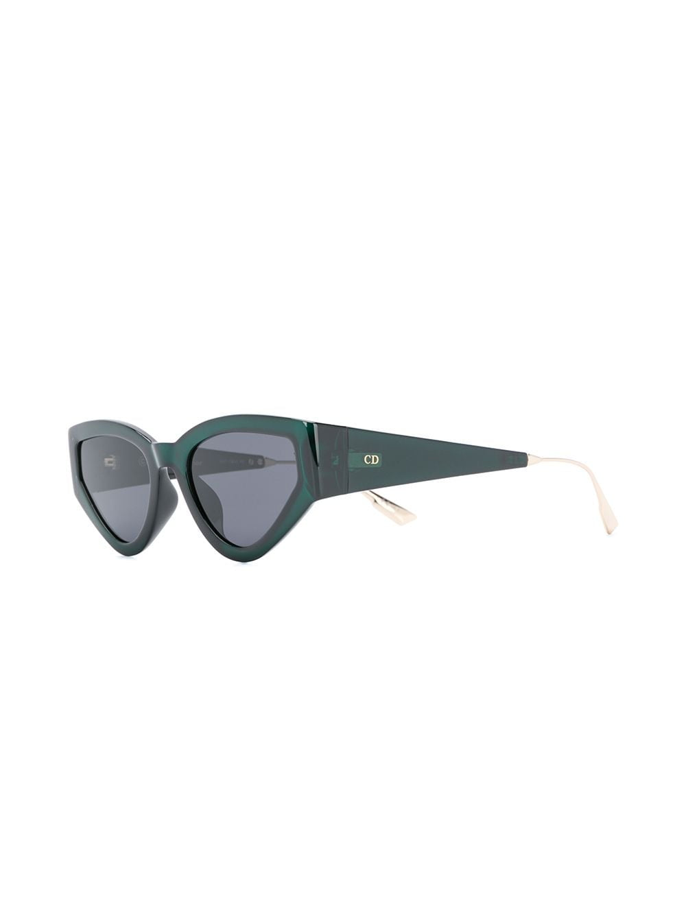 CATSTYLEDIOR1 GREEN BUTTERFLY SUNGLASSES