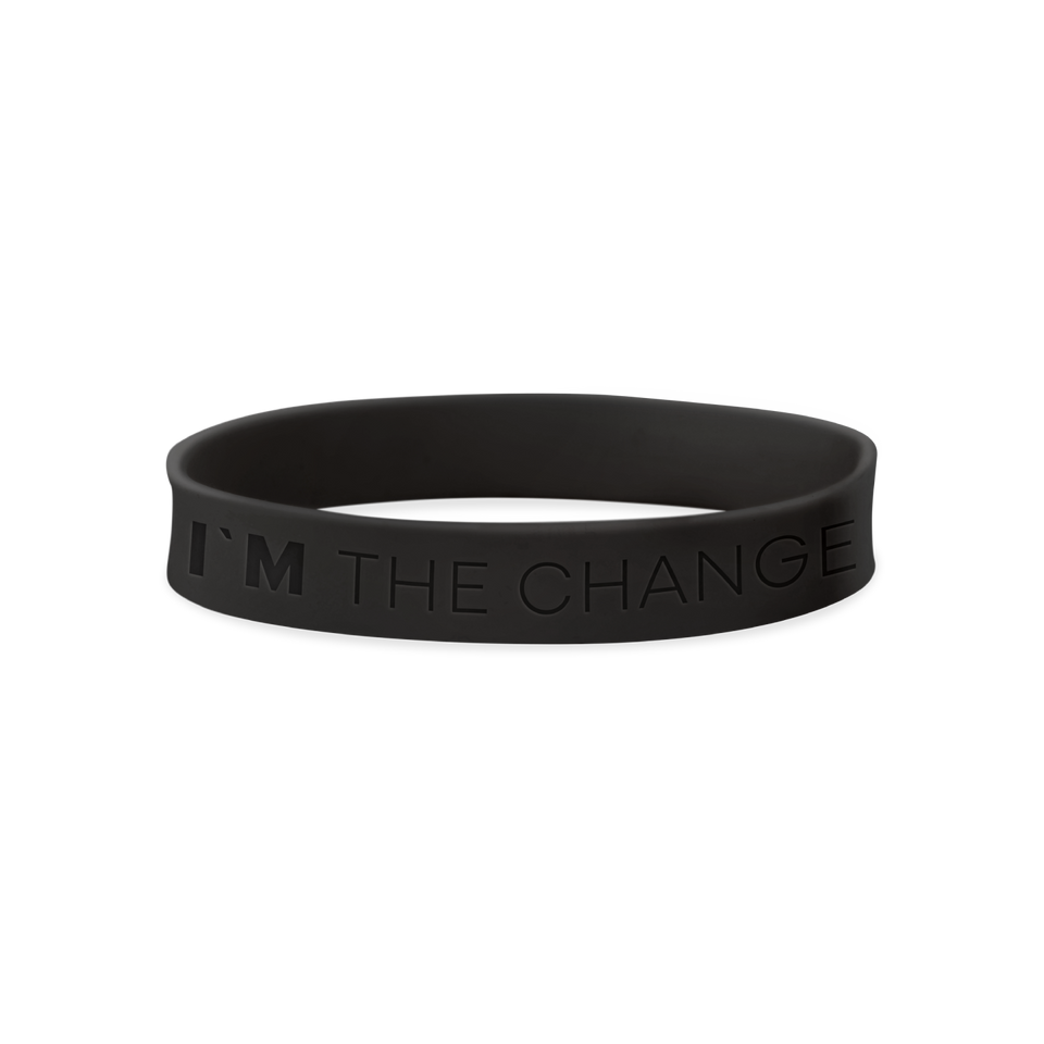 WRISTBAND I'M THE CHANGE