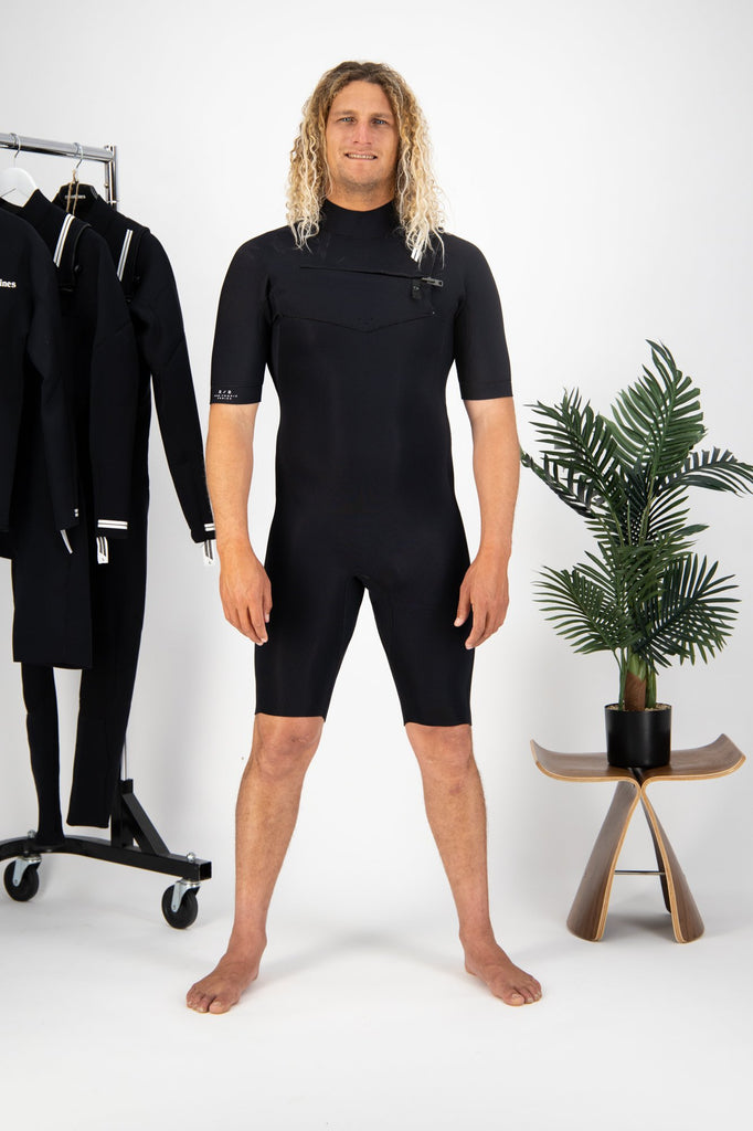 Premium Mens 2/2 Chest Zip Springsuit