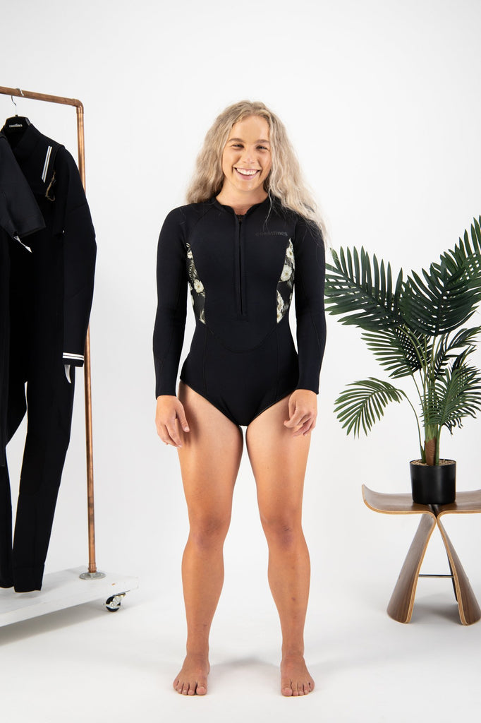 Premium Womens 2mm Front Zip Springsuit