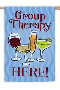 Group Therapy House Flag