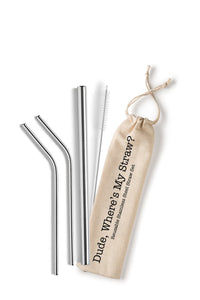 Stainless Steel Reusable Straws 5 Styles