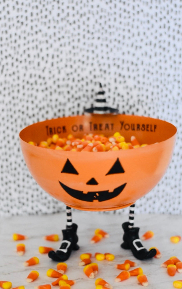 Tin Pumpkin Trick or Treat yourself