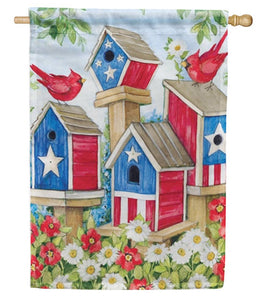 All American Birdhouses house flag
