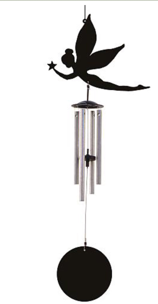 Jacob's Fairy Silhouette Windchime