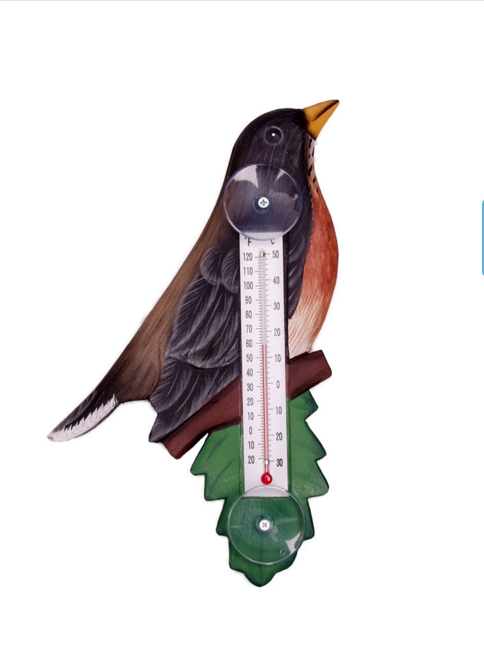Robin Window Thermometer