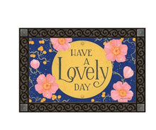 Load image into Gallery viewer, Lovely Day door Mat (local delivery only)