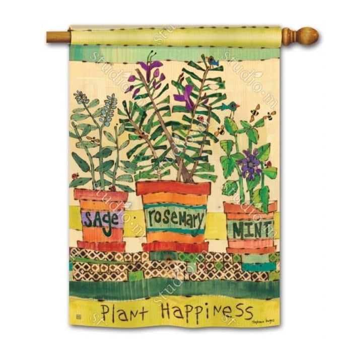 Herb Garden House flag