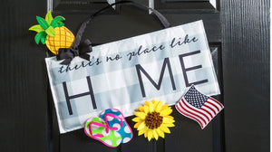 No Place Like Home Interchangeable Icon Door Decor