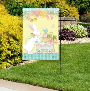 Easter Delivery garden flag