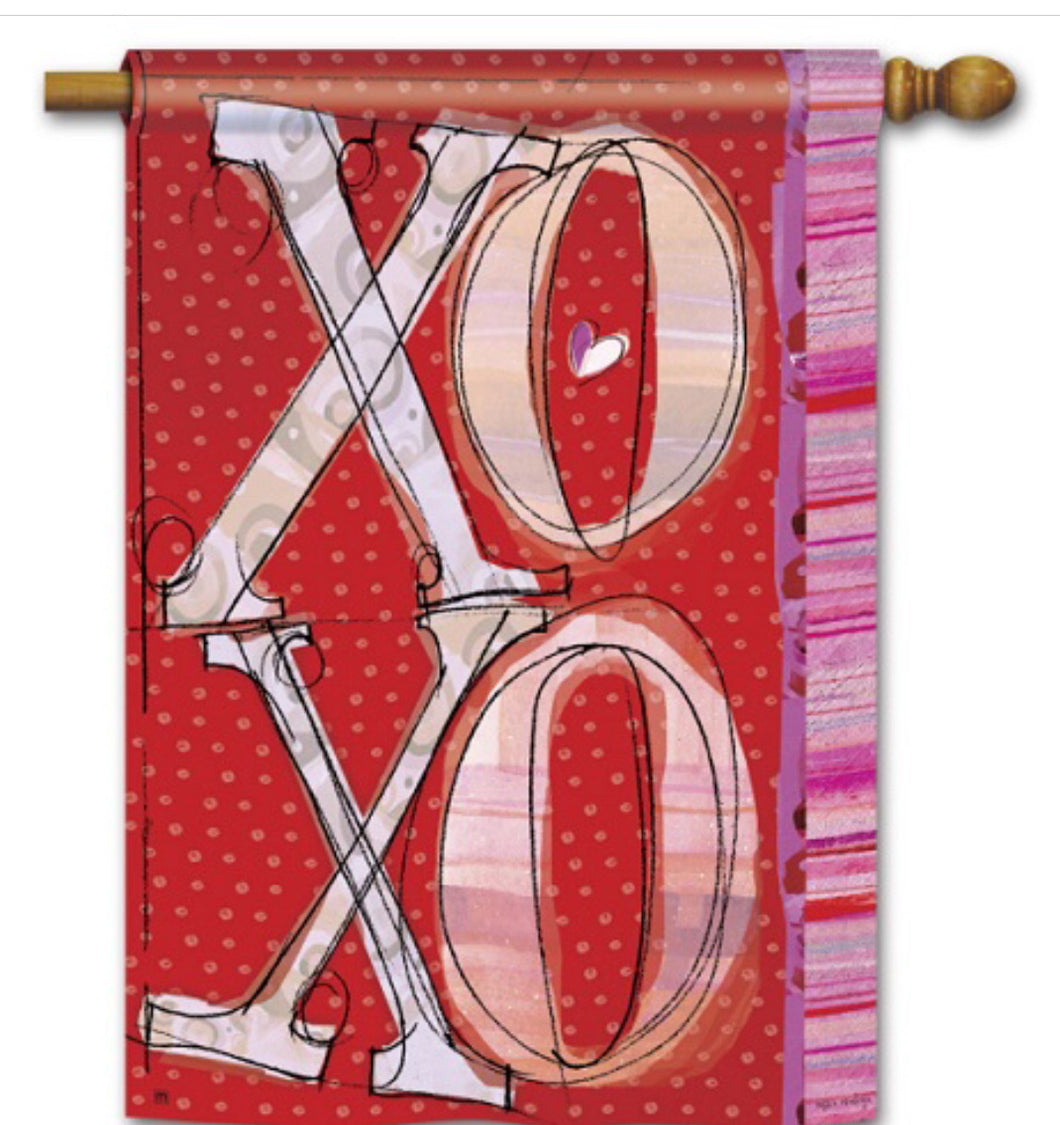 XOXO House Flag