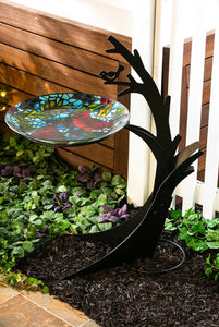 Metal Birdbath Stand (local Delivery only)