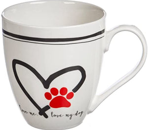 Love me Love My Dog Mug