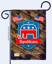 Load image into Gallery viewer, Republicans garden flag