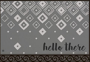 Diamond Pattern door mat (local delivery only)