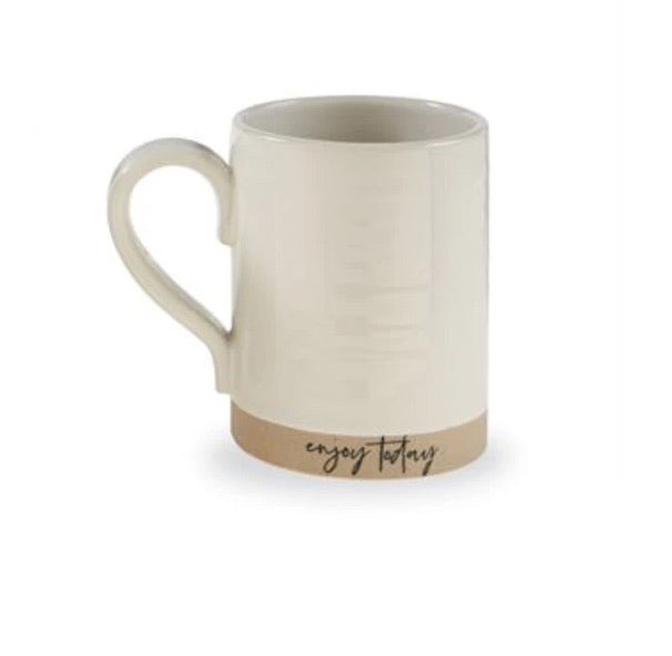 Enjoy Today stoneware mug