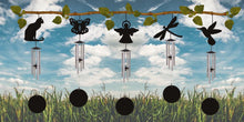 Load image into Gallery viewer, Jacob's Fairy Silhouette Windchime