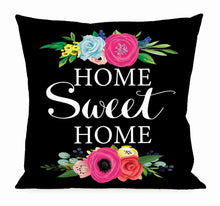 Load image into Gallery viewer, Floral Home Sweet Home Interchangeable Pillow Cover