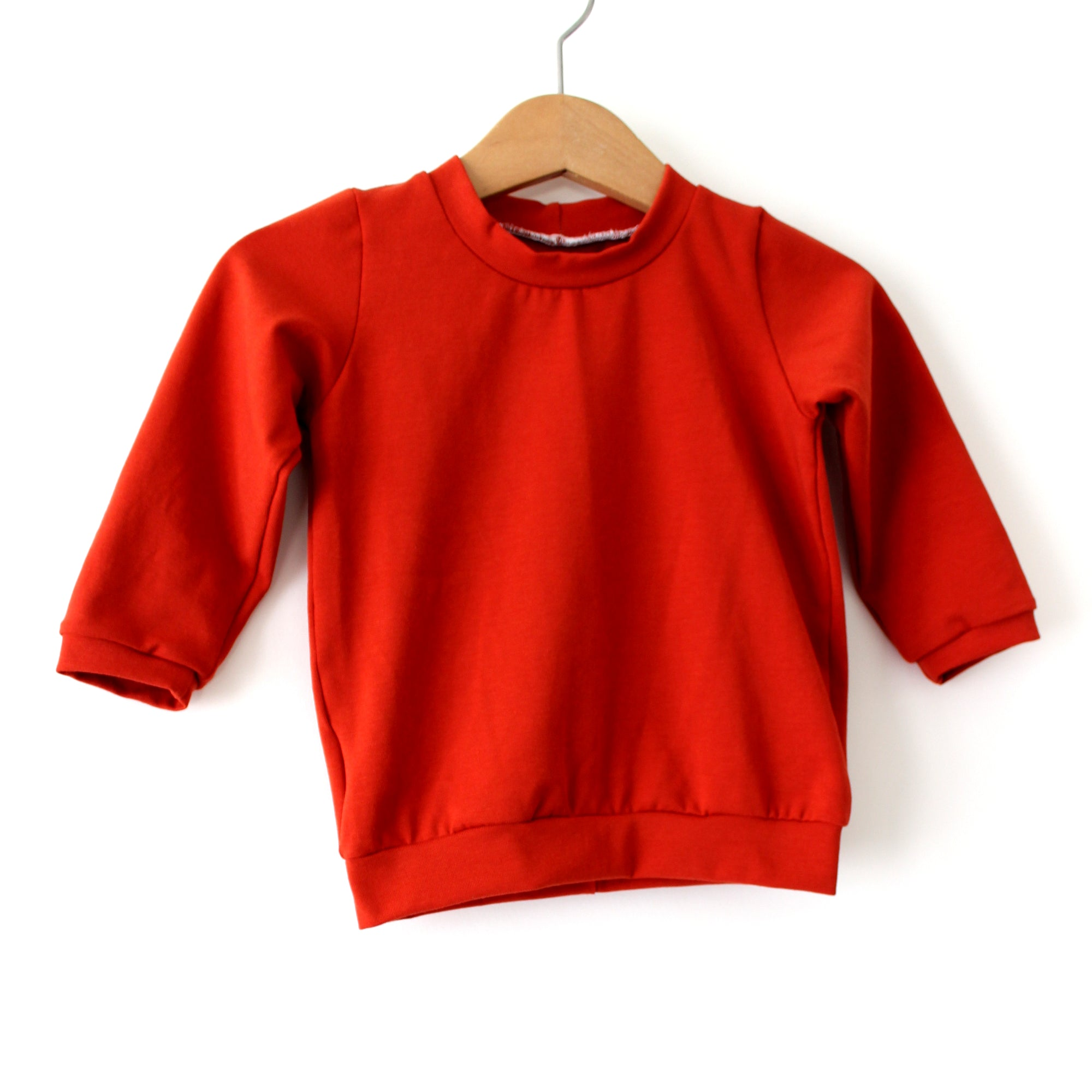 Rust Orange Organic Cotton T-Shirt