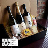 Wine Variety, Snacks & Sweets Box
