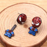 Aretes Spiderman