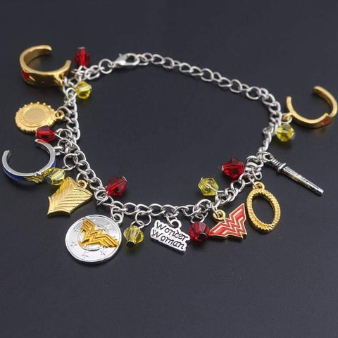 Pulsera dijes Wonder Woman