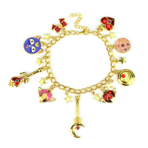Pulsera dijes Sailor Moon