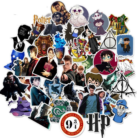 Set de 50 stickers Harry Potter