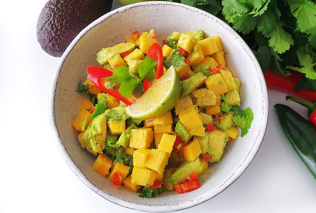 Avocado and Mango Guacamole